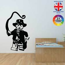 Lego Indiana Jones wall art vinyl sticker decal graphic