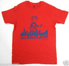 "Paul Frank T-Shirt Red "" Im Big in Japan "" 100% Cotton  Paul Frank  Julius"