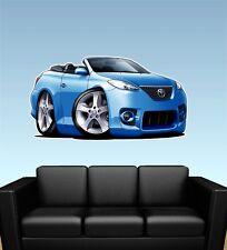 Toyota Solara Convertible Car WALL GRAPHIC DECAL MAN CAVE ROOM MURAL 9348
