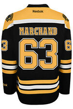 Brad Marchand Boston Bruins NHL Home Reebok Premier Hockey Jersey