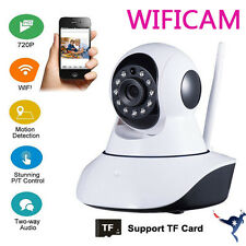 HD 720p Wireless IP PTZ WiFi Camera Security CCTV iPhone Android PC Night Vision