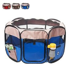 New Dog Pet Portable Kennel Puppy Comfy House Folding Pets House Outdoor Playpen