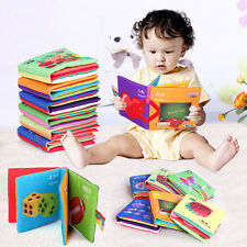 1PC Intelligence development Cloth Bed Cognize Book Educational Toys Kids Baby
