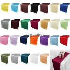 30*275cm Satin Damask Table Runner Wedding Party Banquet Decor 26 Colors