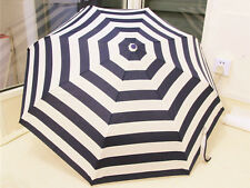 Stripe Folder Sun Umbrella Anti-UV Fresh Fashion Parasol Automatic Rain Umbrella