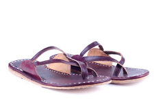 Handmade Leather slippers Flats Flip Flop Indian Slippers Shoes Leather Sandals