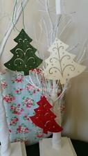 Christmas Tree Wooden Shapes Crafts, Gift Tags, Christmas Tree Decoration Green