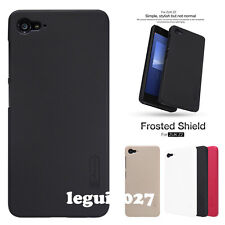 For ZUK Z2 Nillkin Matte Frosted Shield Back Cover Skin Case + Screen Protector
