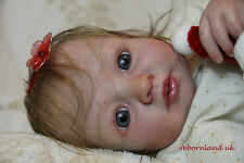 """REBORN DOLL KIT, 20"""" - WITH OR WITHOUT DOE SUEDE BODY!- """"EVELYN """""""