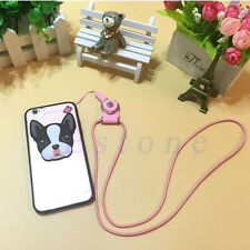 Detachable Neck Strap Ring Lanyard For iPhone Samsung Cell Phone ID Card PSP MP3