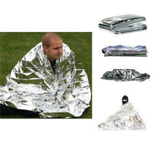210x130CM Waterproof Survival Emergency Foil Blanket Rescue Thermal First Aid