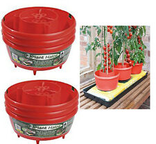 Garland GREEN/ RED Plant Halos Pot Cane Support Watering Tomatoes Beans