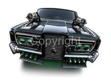 Black Beauty Green Hornet Car Cartoon Tshirt 9498 automotive art