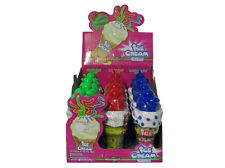 ICE CREAM CANDY - Reusable Plastic Ice Cream Cone  Different Sweet Flavours