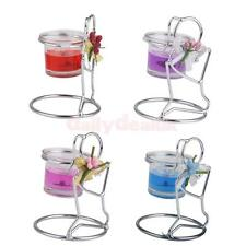 Silver Metal Candle Holder Stand Tea Light Candlestick Wedding Party Table Decor