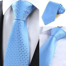 Classic Checks Jacquard Woven Men's Tie Necktie Wedding Party with Party Ties
