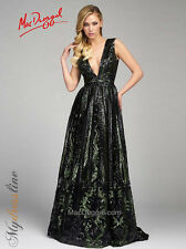 Mac Duggal 80653D Long Evening Dress ~LOWEST PRICE GUARANTEE~ NEW Authentic Gown