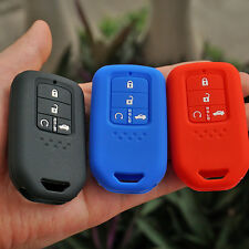 for Honda CRV Pilot Accord Civic Fit Freed  silicone key fob cover case skin