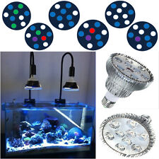 9W E27 LED Aquarium Light PAR 38 Reef Bulb for Pond Fish Tank Coral Reefs