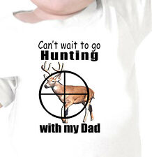 """""""I Can't Wait To Go DEER HUNTING"""" With GRANDPA, DAD, MOM Youth or Infant T-Shirt"""
