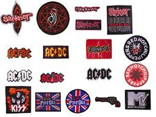 Heavy Metal Rock Punk Retro Music Band Embroidered DIY Sew Iron On Patch Badge.