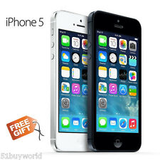 "Apple iPhone 5 A1429 64GB/32GB/16GB Factory Unlocked 4G LTE 4""GRADE A Smartphone"