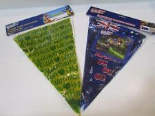 Australia day anzac day cricket Australian flag bunting 5m 12 flags 20cm x 30cm