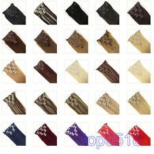 """Clip in Remy Human Hair Extensions 7PCS Full Head Straight 15-22"""" Ombre Hair"""