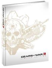 *NEW* OSG Gears of War 3 Limited Edition Strategy Guide by BradyGames