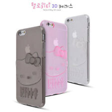 Licensed HELLOKITTY 3D Jelly Smartphone Case Anti-Shock Cover For iPhone&Galaxy