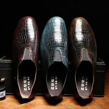 Stylish Men's Gird Pattern loafer new design Dress slip on stylish driving Shoes