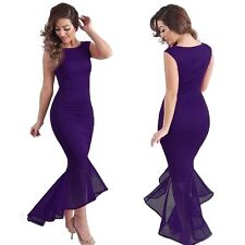New Sexy Sleeveless Slim Maxi Formal Prom Party Ball Gown Evening Long Dress