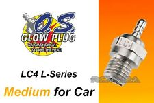 O.S. Glow Plug Type LC4 Medium Long Reach, for 1/10 Scale Off-Road Engines