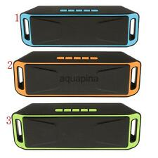 Wireless Boombox Stereo Bluetooth Speaker for iPhone Samsung Tablet PC