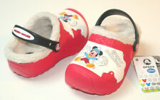 $35 Crocs Disney Snow Mickey Mouse Lined Clog Size M1W3 J1 CLEARANCE