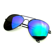 Polarized Sunglasses Full Mirror Flash Revo Aviator Sunglasses