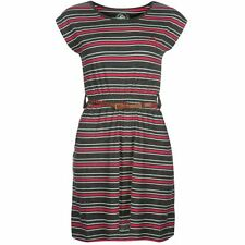 Ocean Pacific Ladies Belted Dress Charcoal New With Tags