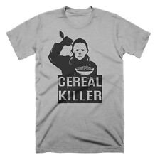 Halloween T Shirt Cereal Killer T Shirt Funny Graphic Tees Funny Pun Horror Tees