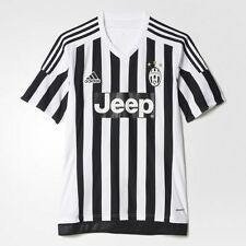 ADIDAS JUVENTUS FC HOME JERSEY MAGLIA SOCCER JEEP - White/Black - AA0336