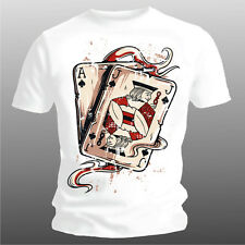 Fun Player T-Shirt: Deck, Player Cards, Sizes S XXL (BIS 5XL Possible)