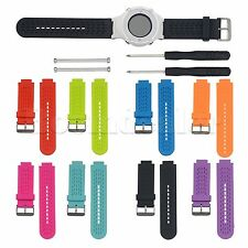 Replacement Silicone Wrist Band + Tools For Garmin Approach S2 S4 GPS Golf Watch