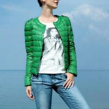 Fashion Casual Womens Winter Candy Color Slim Down Jacket Coat Parka 2 Colors