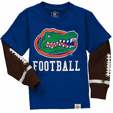 Wes & Willy Florida Gators Toddler Royal Football Fooler Long Sleeve T-Shirt
