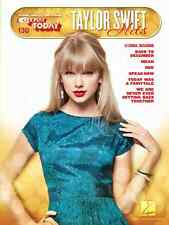 """""""TAYLOR SWIFT HITS"""" E-Z PLAY TODAY #130 PIANO/KEYBOARD MUSIC BOOK BRAND NEW SALE"""
