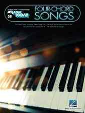 """""""FOUR-CHORD SONGS"""" E-Z PLAY TODAY #58 PIANO/KEYBOARD MUSIC BOOK BRAND NEW SALE!!"""
