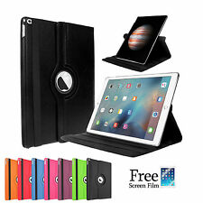 360 Rotating Pu Leather Smart Cover Case for Apple iPad mini 4 3 2 1
