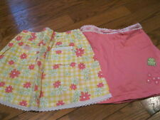 NWT Gymboree Leapin Lily Pad Froggy Skirt,skort Yellow or Pink Girls sz  3