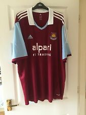West Ham United Home shirt 2013/14 - Size 2XL