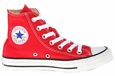 Converse Chuck Taylor Hi Tops Red Available Size Sneakers Mens Shoes