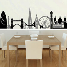 London Montage - Wall Decal Art Sticker kitchen lounge living room bedroom